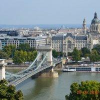 мост Сечень через реку Дунай . Будапешт.Венгрия :: Anton Сараев
