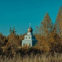 Часовня в полях :: Дмитрий Конев