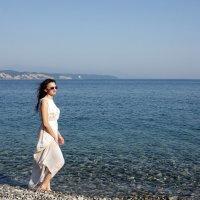 На берегу моря :: Виолетта