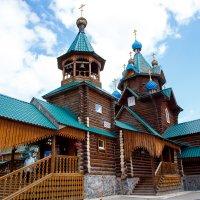 Деревянная церковь :: Ксения