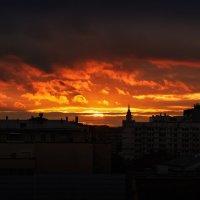 Закат над Москвой :: Константин Косов
