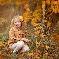 Портрет девочки осенью :: Любовь Белугина