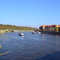 Кораблики на Влтаве :: Ольга