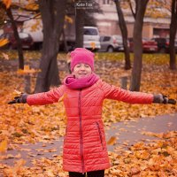 Девочка осень :: Екатерина Фокс