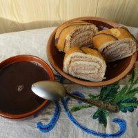 Рулет с горячим шоколадом. :: Дмитрий Гринкевич