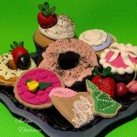 сладости из полимерной deco глины :: Екатерина