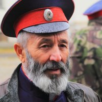 Пожилой казак :: Юрий Гайворонский