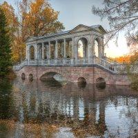 Мраморный мостик, царское село :: Александр Кислицын