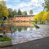Осень в городском парке :: Олег Козлов