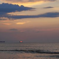 Baltic Spit. Sunset. :: Tatiana Golubinskaia