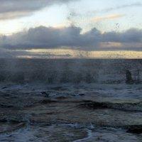 Северодвинск. Белое море. Сегодня штормит (4) :: Владимир Шибинский