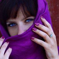 Глаза как васильки :: VikTori Knyazeva