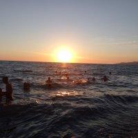 закат над Черным морем :: Антонина Владимировна Завальнюк