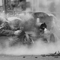 Пулемет за работой :: Ирина Бруй