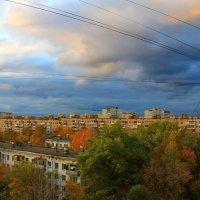 осенний вечер из окна.......))) :: Sergey Ganja
