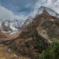 гора Чотча (3637 м ) и ледник Хакель. :: Аnatoly Gaponenko