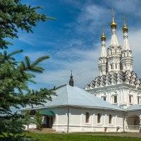 Церковь Иконы Божией Матери Одигитрия в Предтеченском Вяземском монастыре :: Олег Козлов