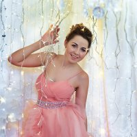 Новогодняя фотосъемка девушки :: марина алексеева