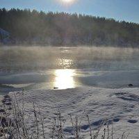 Зимняя река :: Ольга
