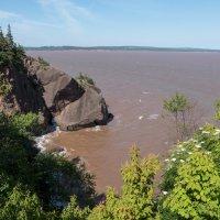 Еще один вид на залив Фунди (Канада) :: Юрий Поляков