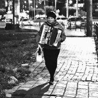 Дама с аккордеоном :: Екатерина Торганская