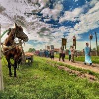 Крестный ход в с.Шубенка, Алтайского края 1 :: Владимир Черкасов
