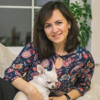 Дама с собачкой :: Юлия Николаева