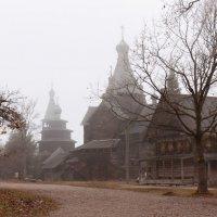 Про осень и туман :: Alena Seroshtan