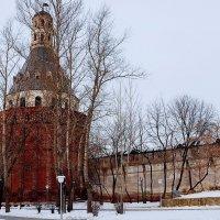 """Башня """"Дуло"""" в Симоновом монастыре. :: Владимир Болдырев"""