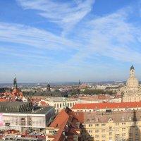 Дрезден, вид на Альтштадт с церкви Креста :: Тимофей Черепанов