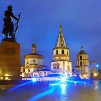 Памятник Якову Похабову и Собор Богоявления :: Алексей Белик