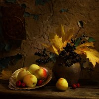 Осенние яблоки :: Victor Brig