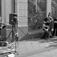 скрипачка и фотограф :: Александр Шурпаков