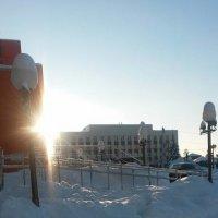 Лучи зимнего солнца :: Татьяна Новоселова