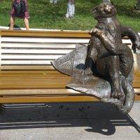 Скульптура «Йошкин Кот» :: Елена Павлова (Смолова)