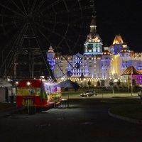 В городе Сочи, тёмные ночи!!! (Сочи Парк, отель Богатырь) :: Алексей