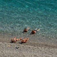 Море, песок, девушки... :: Виктор Льготин