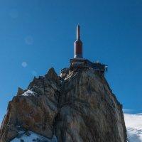 Французские Альпы. Эгюй дю Миди. :: Надежда Лаптева