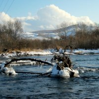 Разгар  Зимы… Торосы  льда, звеня.... :: Любовь Иванова