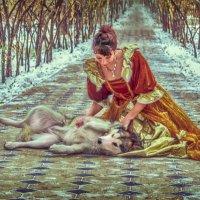 Леди и собака :: Камилла Демидова