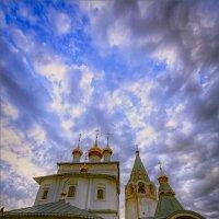 Мой взгляд, на летящие в синеве небес купола... :: Александр Никитинский