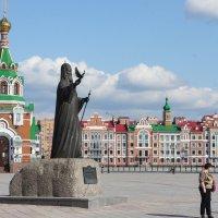 Памятник Святейшему Патриарху Московскому и всея Руси Алексию II :: Елена Павлова (Смолова)