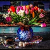 Цветы большого города. :: Милена )))