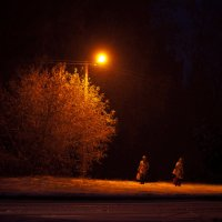 Блуждающие в темноте... :: Ольга