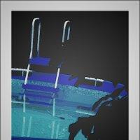 Ночной бассейн :: Григорий Кучушев
