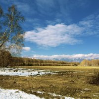 Первый снег минувшей осени :: Анатолий Иргл