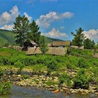 Село у реки :: Сергей Чиняев