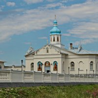 Трапезная церковь Антония и Феодосия Печерских. :: Олег Попков