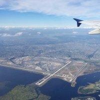 Полет над Нью-Йорком :: Vasilii Pozdeev