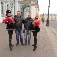 В Петербурге в гостях :: Михаил Жуковский